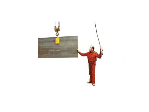 Kran Magnetklaue | Anwendungsbeispiel