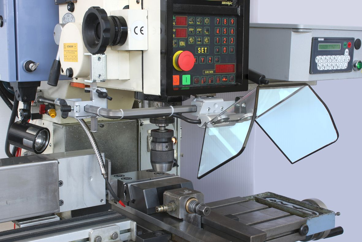 Schutzeinrichtungen für Fräsmaschinen
